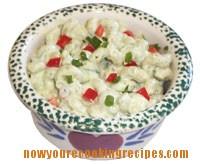 Creamy Herbed Pasta Salad