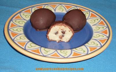 Gluten Free Cookie Dough Truffles