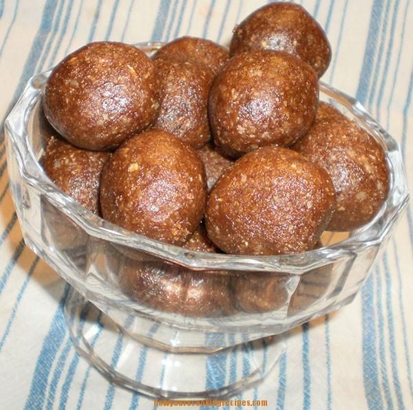 Gluten-Free Gingerbread Balls