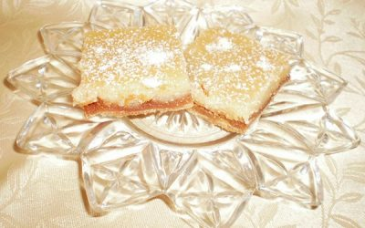 Gluten-Free Honey Lemon Bars