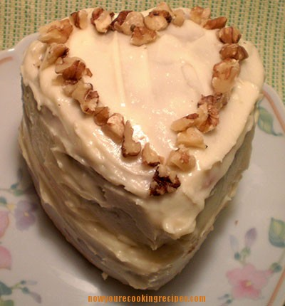 Cute Little Gluten-Free Carrot Cake