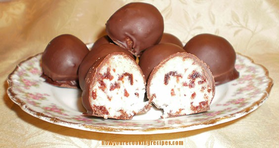 Coconut Cherry Balls