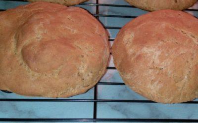 Gluten-Free Pumpernickel-Style Buns