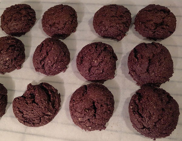 Grain-Free Chocolate Fudge Cookies