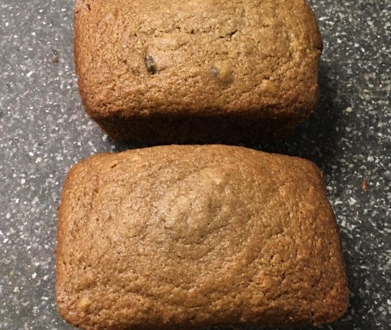 Grain-free Banana Chocolate Chip Muffins