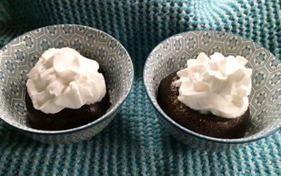Grain-free Instant Pot Chocolate Lava Cakes